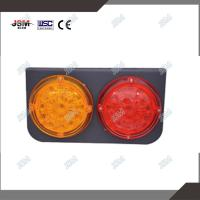 Quality LED combination tail lamp-catamaran with rubber for CIMC truck or trailer for sale