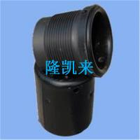 China tubing Thread protector Steel plastic material EUE/NUE 3-1/2reg connection drill pipe Thread protector on sale