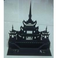 Quality Movable 3D stereoscopic POP card design paper cutting plotter flatbed machine for sale