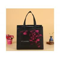 Quality Custom Printing Folding Non Woven Fabric Bags , Canvas Grocery Tote Bags For Shopping for sale