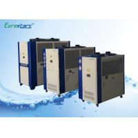 Shopping Center 10 Ton Air Cooled Chiller Portable Air Chiller R22 Or R407C Refrigerant