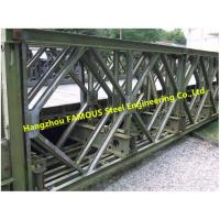 Quality Customized Bailey Bridge Components High Manganese Steel Bailey Panel Transom Materials With Long Life for sale