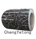 Quality Color Coated Stainless Steel Strip Coil Stone Grain For Interior Decoration Material for sale