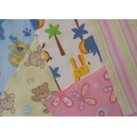 Quality Custom Design Children Clothes Material Cotton Baby Pyjamas Flannel Fabric for sale