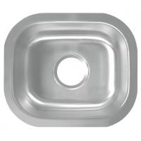 Quality America Style Single Bowl Undermount Stainless Steel Sink Easy Installation for sale