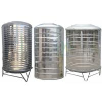 China Round Insulated Stainless Steel Water Tank / 304 Cold Water Storage Equipment Customized on sale