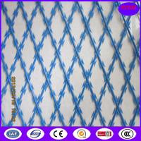 Quality high security Bto-22 razor flat welded wire mesh factory for sale