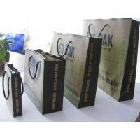 Quality Zip lock brown paper packing bag printing for sale