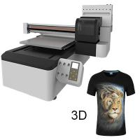 Quality Glass, Plastic and All Materials Is No Problem, 3D Effect, Cheapest 60cm X 90cm UV Digital Printer for sale
