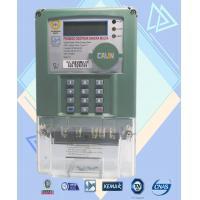 China Anti - Fraud Prepaid Power Meters  2 Wire Class Prepayment  Electricity Meters on sale