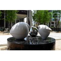 China Art Decoration Stainless Steel Garden Sculptures Metal Outdoor Decoration on sale