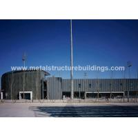 Modern fabricated / galvanized steel buildings With long service life