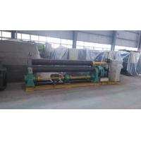 China 22 KW 3 Rolls Mechanical Plate Rolling Machine 2500mm Width ISO on sale