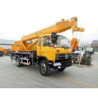 Quality DFAC Mobile Hydraulic Vehicle Mounted Crane With 16 - 20 Ton Lifting Capacity for sale