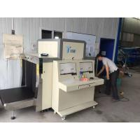 Quality Dual View X Ray Luggage Scanner / Airport Security X Ray Machine Conveyor Type for sale