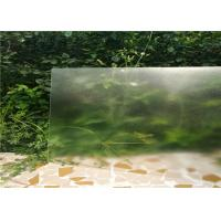 Quality Solid Structure Low Iron Toughened Glass Flat Shape 3.2mm / 4mm Thickness for sale