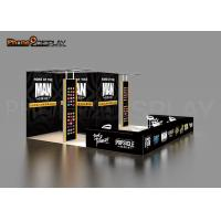 Quality Aluminum Trade Show Exhibit Booths 20x20FT Portable Exhibition Booth for sale