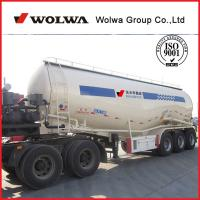 China Shandong Wolwa Bulk Cement Tank Semi Trailer for sale on sale