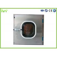 China 304 Stainless Steel Pass Through Box ISO Class 5 Clean Grade In Laboratory on sale