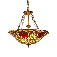 Quality Tiffany style ceiling chandelier fixtures for home lighting (WH-TF-19) for sale