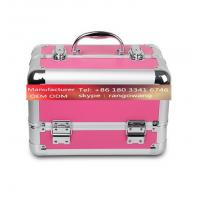 Quality High Grade Aluminum Alloy Jewelry Box Makeup Case for sale