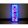 Buy cheap Slim Vertical LED Open Sign 110V Neon Light Blinking Option Advertisement Board from wholesalers