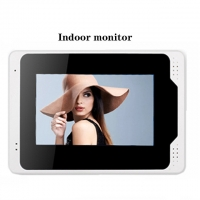 "Quality 7"" 1.0MP 3.6mm Camera WIFI Video Intercom With RFID Card for sale"