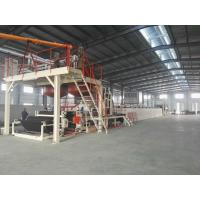 Quality Automatic Tile Production Line / Bitumen Backed Carpet Tiles Water - Cooling Control for sale