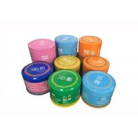 Quality Rust - Proof Spice Packing Metal Tin Can With Plastic Lid 100g 200g Capacity for sale