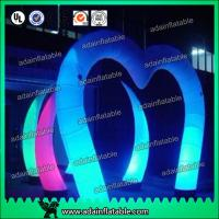 Quality Lighting Events Party Club Entrance Decoration Arch Decoration Inflatable for sale