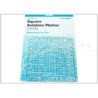 Buy Kearing Aviation Supplies Plastic Square Aviation Plotter Customized logo at wholesale prices