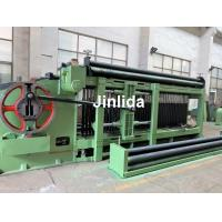 Quality 4m Galfan Coated Wire Automatic Gabion Mesh Machine 3.0mm - 3.2mm Wire for sale