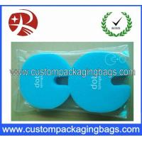 Self-Adhesive Sealing Tape Custom Packaging Bags , Clear Plastic OPP Packaging Bag