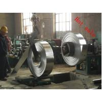 Quality SGCC Galvanized Steel Strips / Coils With Waxed And Edges Debarred for sale
