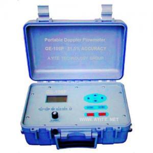 Quality Portable Doppler Ultrasonic Flow Meter Flowmeter for sale