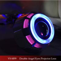 2.5 Inch Car/Motorcycle HID Bi-xenon projector Lens light with Dual CCFL Angel