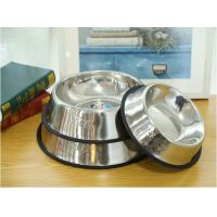 Quality High Quality Various Sizes Stainless Steel Pet Dog Bowl Manufacturer for sale