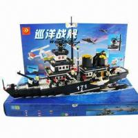 China Toy Cruiser, Model Warship, Building Blocks  on sale