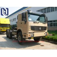 Quality 336HP 371HP 60 Ton Semi Trailer Truck with 8x8 Wheel Drive , EURO II Standard , Off Road Model for sale