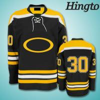 Quality Personalized SublimatedIce Hockey Jerseys , 220gsm polyester fabric for sale