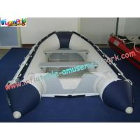 China Custom 0.9MM(32OZ) PVC tarpaulin Inflatable Boat / Inflatable Kayak for water game on sale