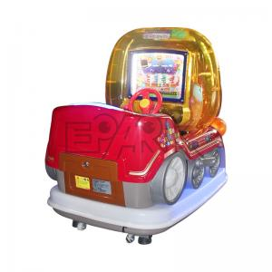 Quality Kids Baby Face Arcade Game Machines With Colorful LED Lights for sale