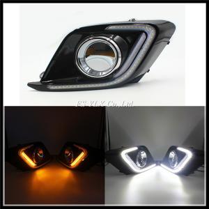 Quality SMD LED Daytime Running Light For Mazda 3 Axela with turn signal light LED DRL fog lamp for sale