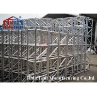 Quality Luxurious Mini Rigging Truss , Pedestals Heavy Stage Truss Wear Resistant for sale