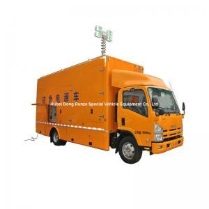 Quality ISUZU Mobile Generator Truck For Emergency Power Supply 200kw 50hz 3 Phase 220V Unit for sale