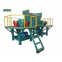 Quality High Efficiency Wood Shredder Machine Double Shaft With Φ500×40mm Knife 9 Ton for sale
