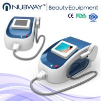 China Portable painless 808nm diode laser hair removal machine home use / laser hair removal on sale