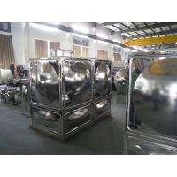 Quality Stainless Steel Water Tank With Durable Corrosion Crack Panel for sale