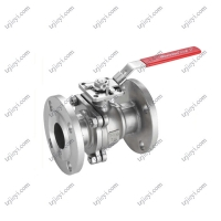 China ANSI 4 Inch Handle Price Flanged Floating High Pressure Stainless Steel Ball Valve on sale