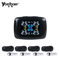 China Gauge Wireless Tire Pressure Monitoring System Solar Power TPMS Sensor Infineon Chip on sale